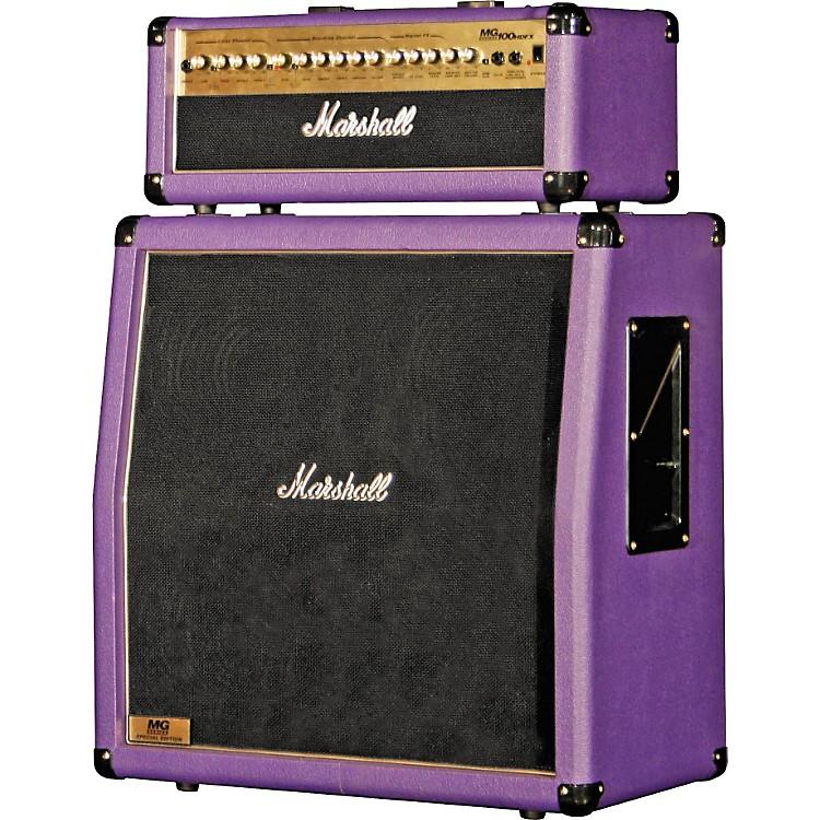 Marshall{} MG100HDFX/MG412A Slant Purple Half Stack