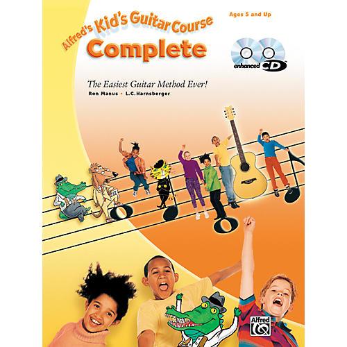 Alfred 00-25783 Sheet Mus Kid's Guitar Course 1 2 Bk Cd-thumbnail