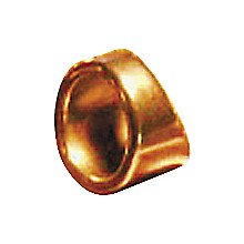 "Peaceland Guitar Ring 1"" Brass Guitar Ring Slide Size 11"