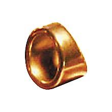 "Peaceland Guitar Ring 1"" Brass Guitar Ring Slide Size 13"