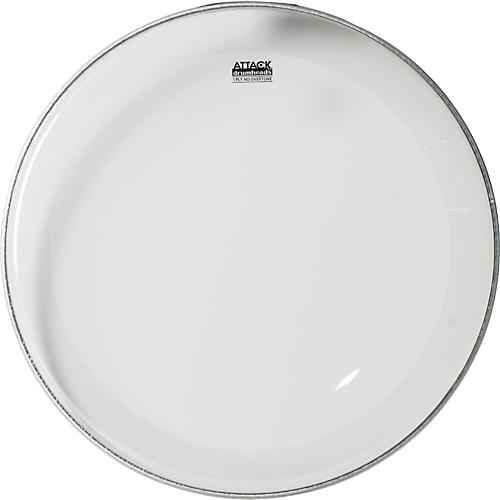 Attack 1-Ply No Overtone Clear Drumhead