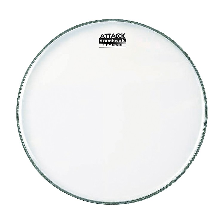 Attack 1-Ply No Overtone Coated Drumhead  24