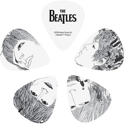 D'Addario Planet Waves 10 Beatles Picks - Revolver Heavy