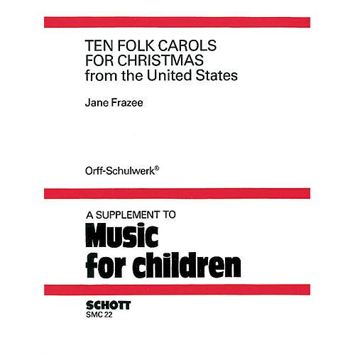 Schott 10 Folk Carols for Christmas Schott Series-thumbnail