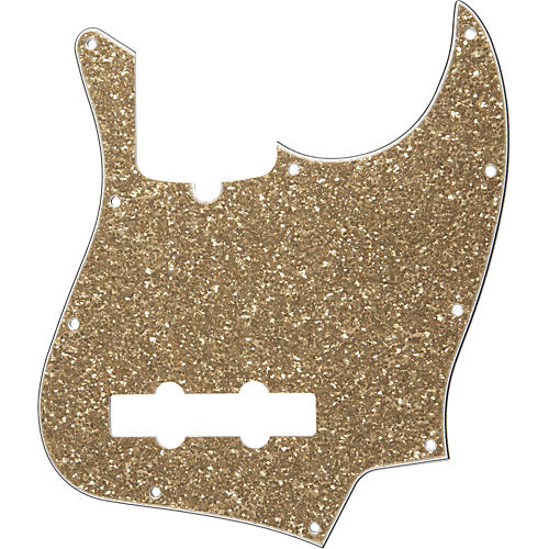 Fender 10-Hole Standard Jazz Bass Pickguard Aged Glass Sparkle