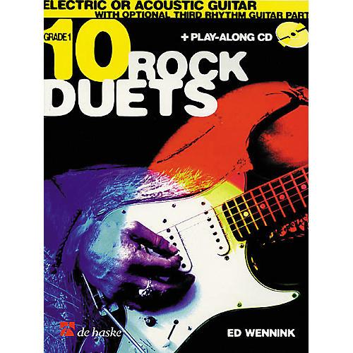 De Haske Music 10 Rock Duets (Book/CD)