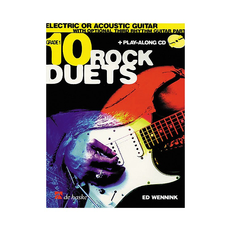 De Haske Music 10 Rock Duets (Book/CD)