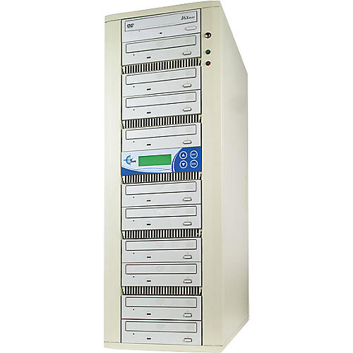 EZ Dupe 10 Target Daisy Chain DVD/CD Duplication System-thumbnail