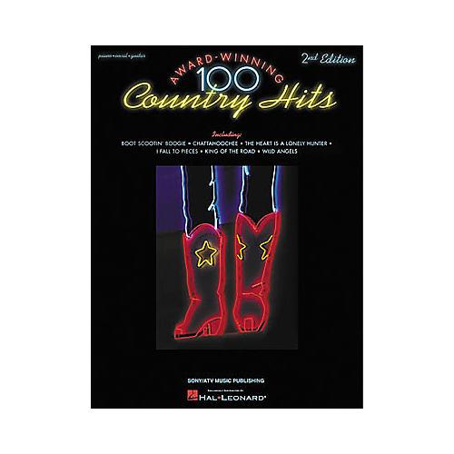 Hal Leonard 100 Award-Winning Country Hits - 2nd Edition Songbook-thumbnail