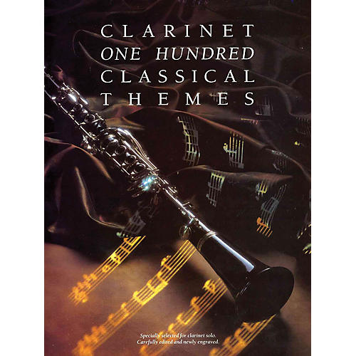 Music Sales 100 Classical Themes for Clarinet Music Sales America Series-thumbnail