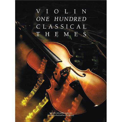 Music Sales 100 Classical Themes for Violin Music Sales America Series Softcover-thumbnail