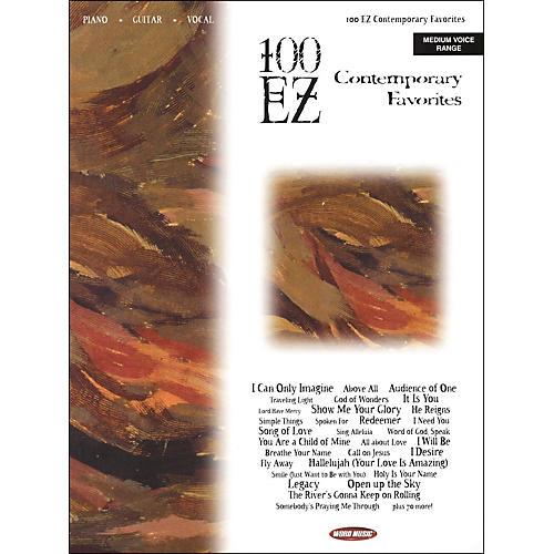 Word Music 100 EZ Contemporary Favorites Piano/Vocal/Guitar Songbook