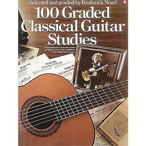 Music Sales 100 Graded Classical Guitar Studies Music Sales America Series Softcover-thumbnail