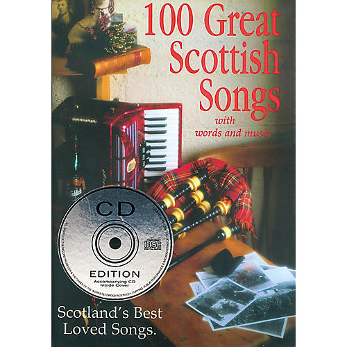 Waltons 100 Great Scottish Songs (Scotland's Best Loved Songs) Waltons Irish Music Books Series Softcover with CD-thumbnail