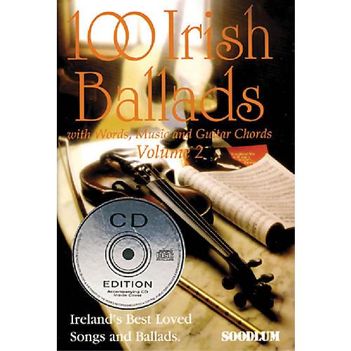 Waltons 100 Irish Ballads - Volume 2 Waltons Irish Music Books Series Softcover with CD-thumbnail