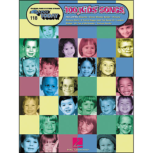 Hal Leonard 100 Kids Songs E-Z Play 118