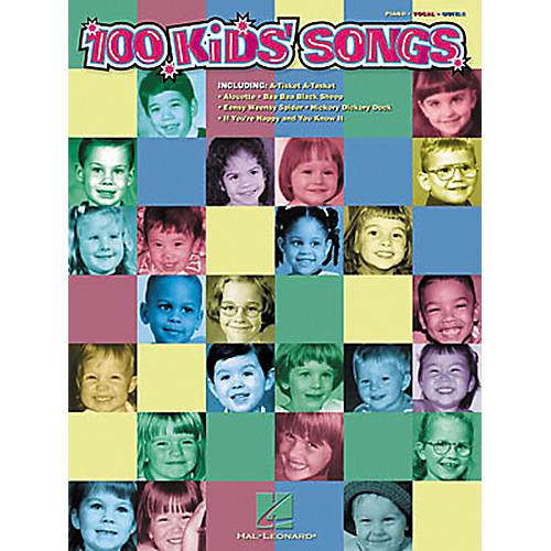 Hal Leonard 100 Kids' Songs Piano, Vocal, Guitar Songbook