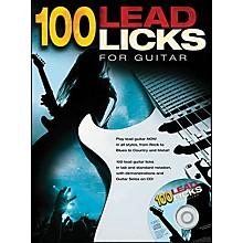 Music Sales 100 Lead Licks for Guitar (Book/CD)
