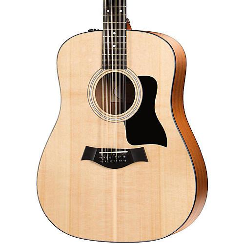 taylor 100 series 150e dreadnought 12 string acoustic electric guitar musician 39 s friend. Black Bedroom Furniture Sets. Home Design Ideas