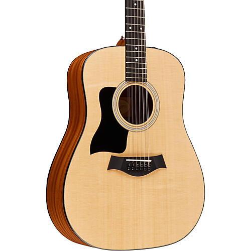 taylor 100 series 150e lh left handed 12 string dreadnought acoustic electric guitar musician. Black Bedroom Furniture Sets. Home Design Ideas