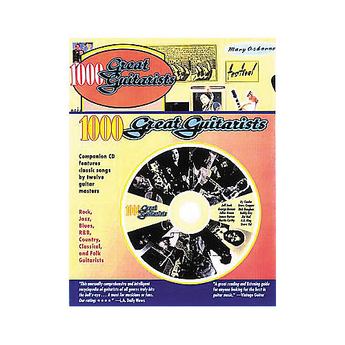 Backbeat Books 1000 Great Guitarists (Book/CD)