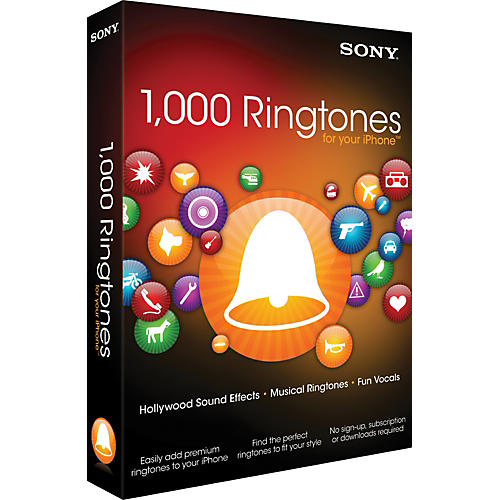 Sony 1000 Ringtones for Your iPhone
