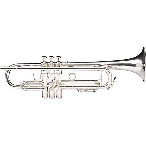 Kanstul 1000 Series Bb Trumpet 1001-2  Silver .464 Bore