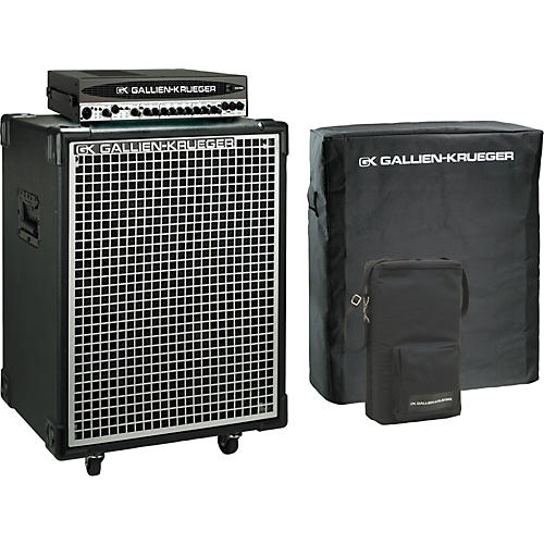 Gallien-Krueger 1001RB-II Head/Neo 212 Cabinet Pack with Covers-thumbnail