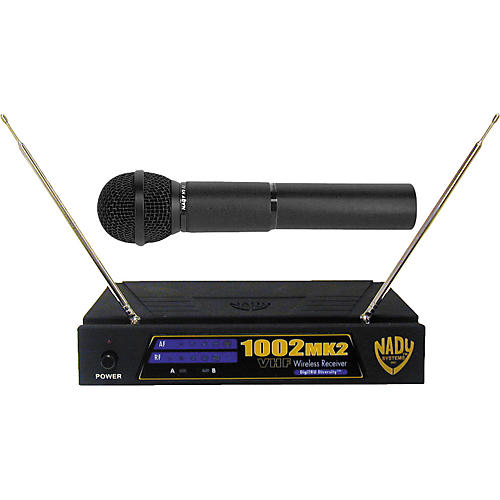 Nady 1002 MK2 Handheld VHF Wireless Microphone System