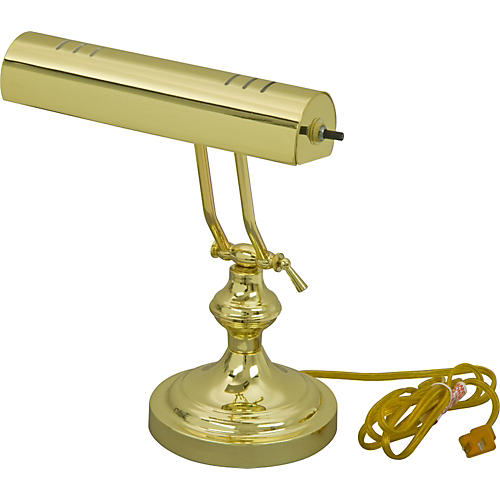 Pacific Trends 1002 Polished Brass Piano Lamp