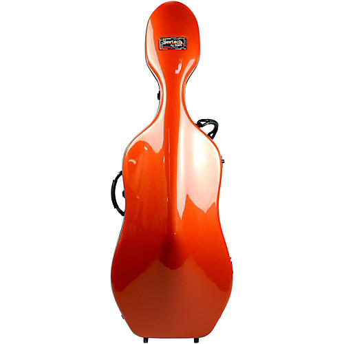 Bam 1002N Newtech Cello Case without Wheels Terracotta