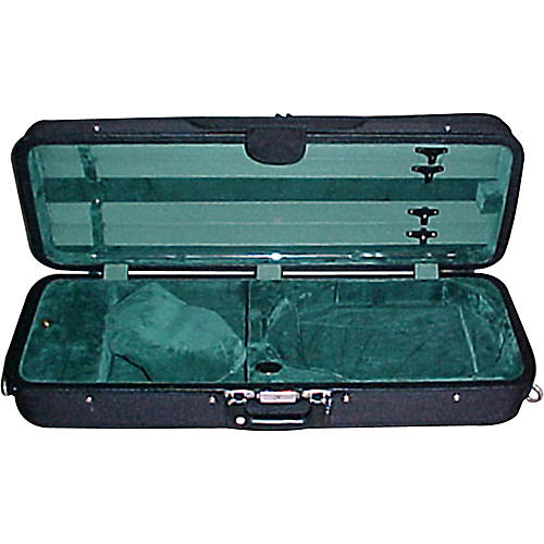 Bobelock 1005VAGRN Oblong Adjustable Violin Case