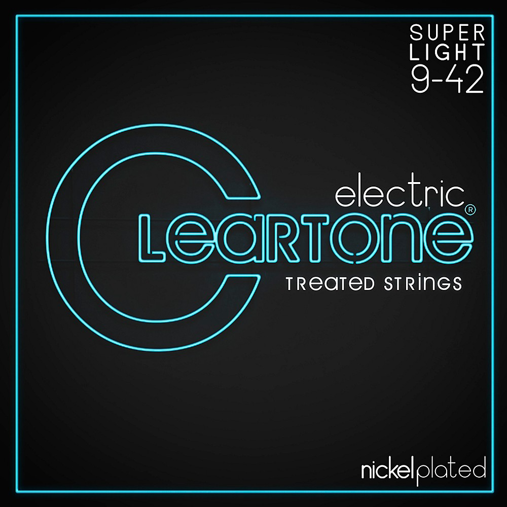 Cleartone Extra-Light Coated Electric Guitar Strings