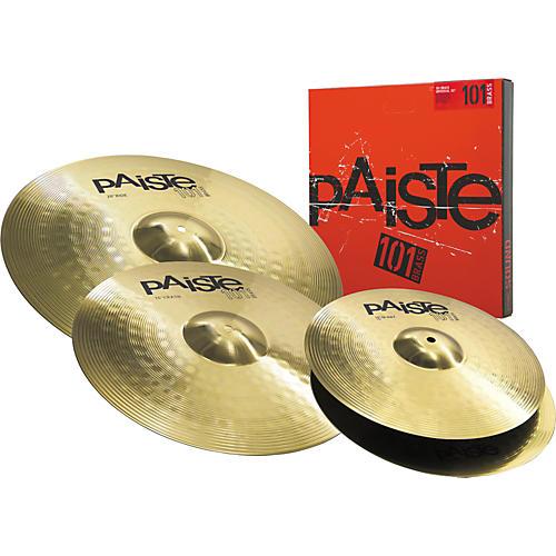 Paiste 101 Brass Universal Cymbal Set 14/16/20-thumbnail
