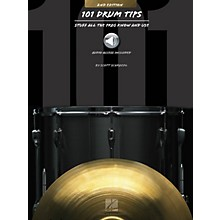 Hal Leonard 101 Drum Tips - 2nd Edition Percussion Series Softcover Audio Online Written by Various