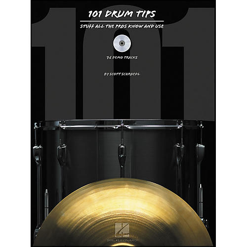 Hal Leonard 101 Drum Tips : Stuff All The Pros Know And Use Book/CD