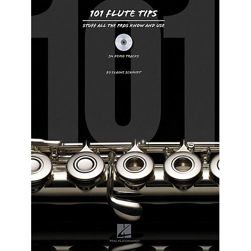 Hal Leonard 101 Flute Tips - Stuff All The Pros Know And Use Book/CD-thumbnail