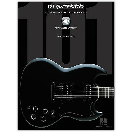 Hal Leonard 101 Guitar Tips (Book/CD)