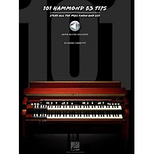 Hal Leonard 101 Hammond B-3 Tips Book/Audio Online