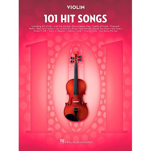 Hal Leonard 101 Hit Songs - Violin-thumbnail