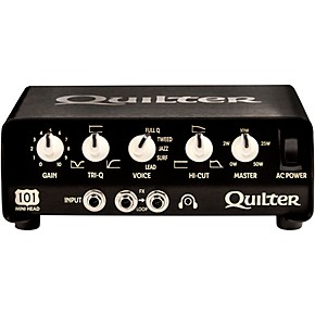 quilter labs 101 mini head 101 mini 100w guitar amp head musician 39 s friend. Black Bedroom Furniture Sets. Home Design Ideas