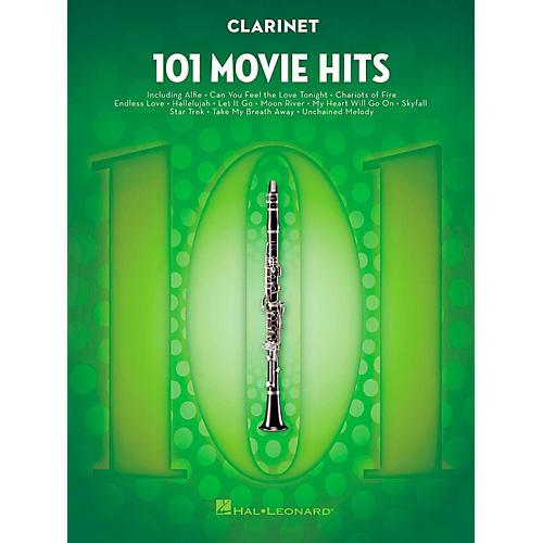 Hal Leonard 101 Movie Hits - Clarinet-thumbnail