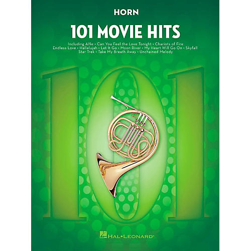 Hal Leonard 101 Movie Hits - Horn-thumbnail