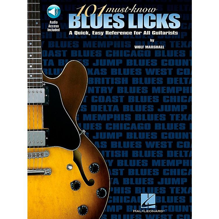Hal Leonard101 Must-Know Blues Licks Book/CD