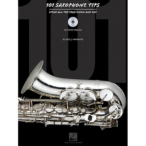 Hal Leonard 101 Saxophone Tips - Stuff All The Pros Know and Use Book/CD