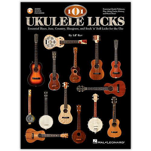 Hal Leonard 101 Ukulele Licks (Book/CD)