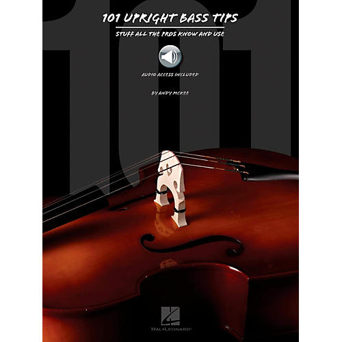 Hal Leonard 101 Upright Bass Tips - Stuff All The Pros Know and Use Book w/ Online Audio-thumbnail