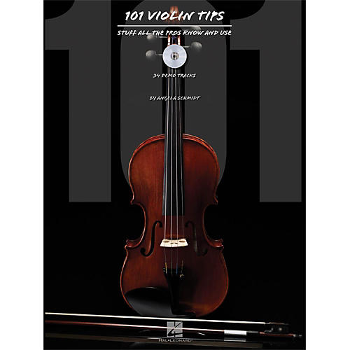 Hal Leonard 101 Violin Tips - Stuff All The Pros Know And Use Book/CD-thumbnail