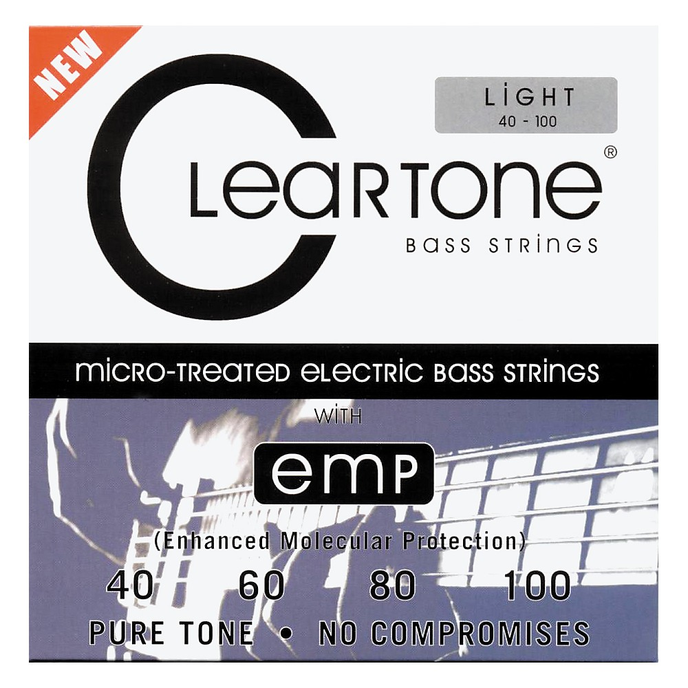 Cleartone Coated Bass Strings Light