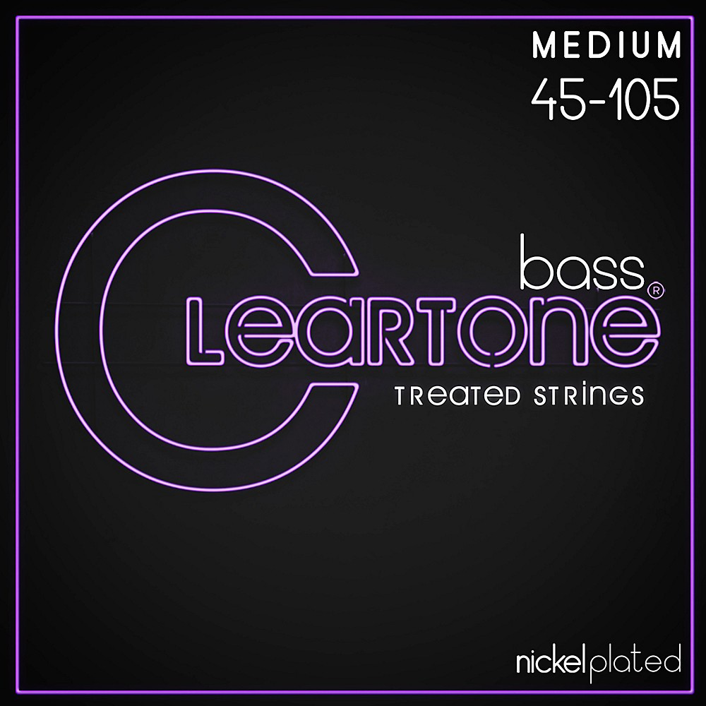 Cleartone Coated Bass Strings Medium Gauge
